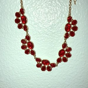Jewelry - Ruby red necklace